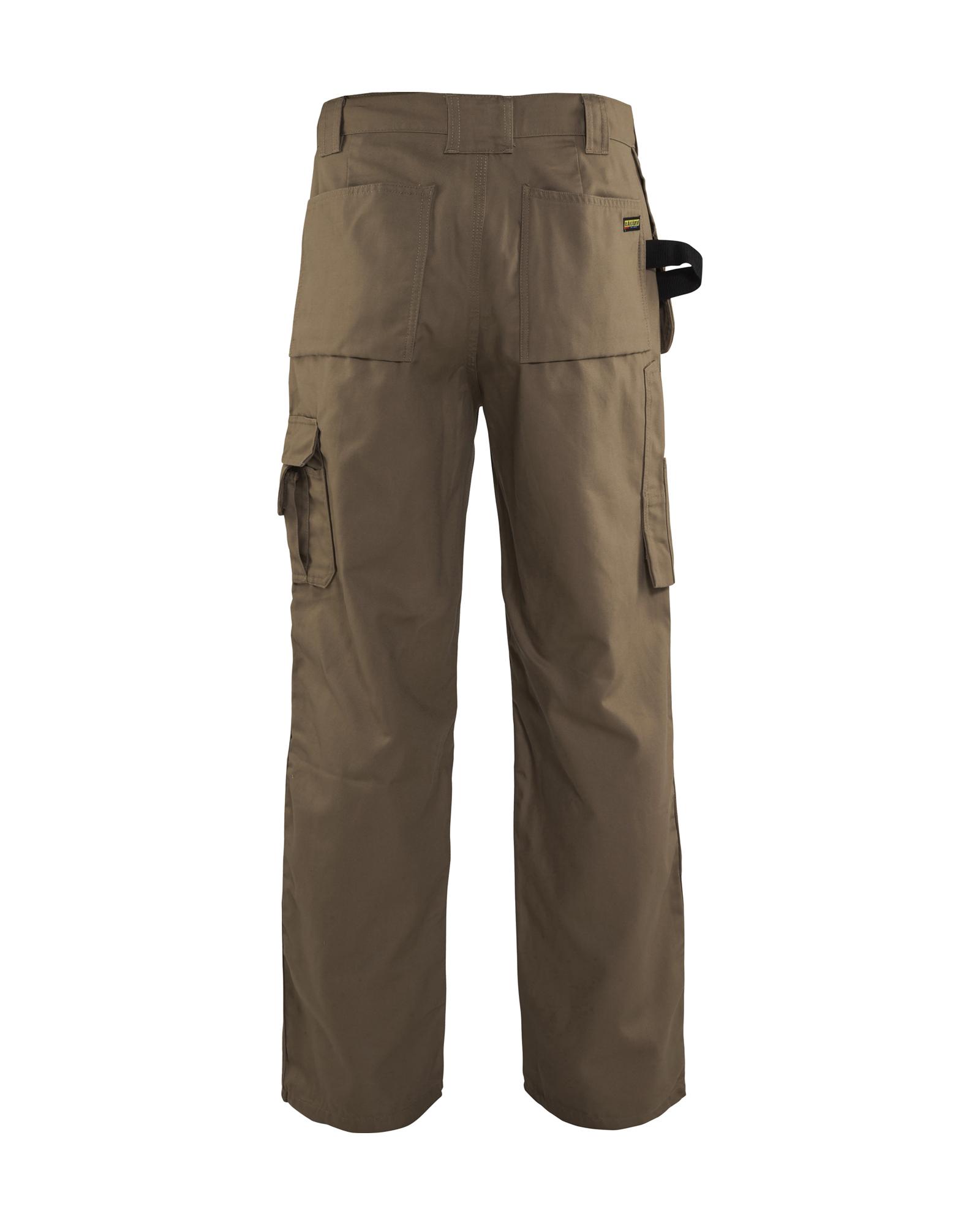 8-Ounce Cotton 30-Inch Length Khaki 38-Inch Waist Blaklader Workwear Bantam Pant with Utility Pockets