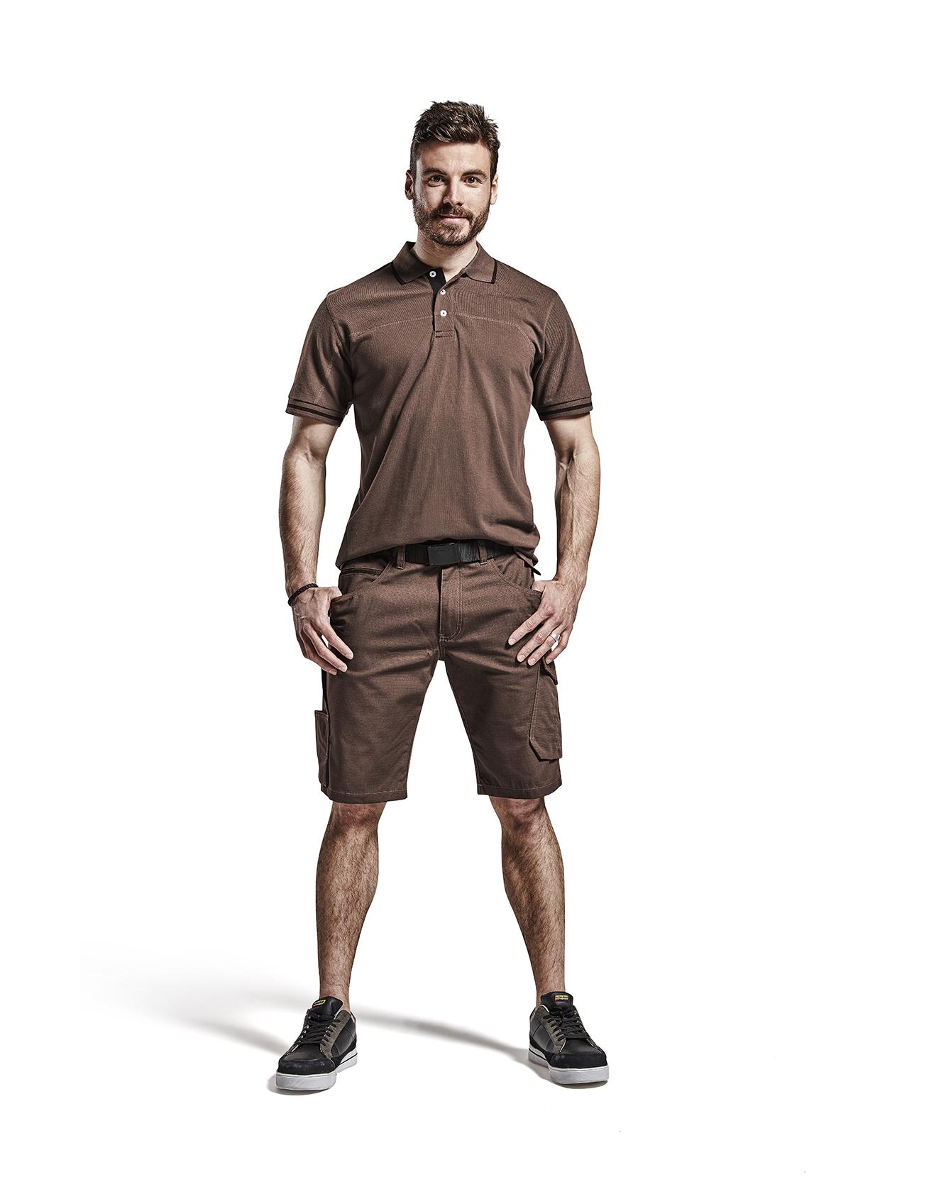 Gr/ö/ße C54 Blakl/äder 149913309956C54 Arbeit Service Shorts Schwarz//Rot