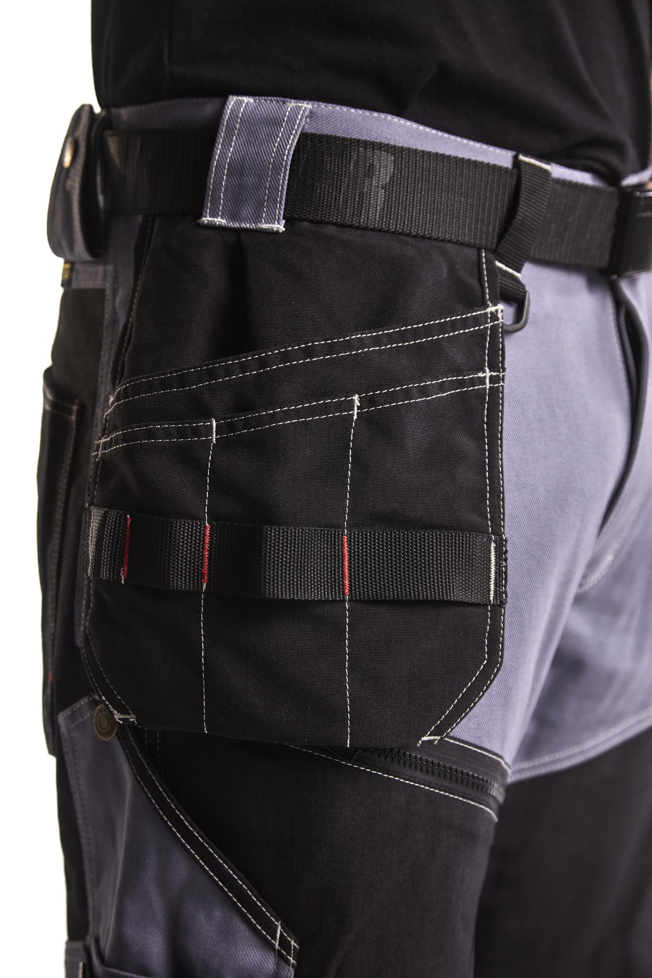 Blaklader 152518459900D108 Lightweight Craftsman Trousers Black Size 40//30