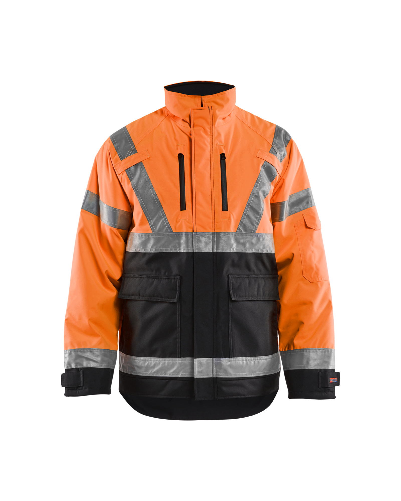 Blaklader Workwear Hivis Parka Coat Orange XL