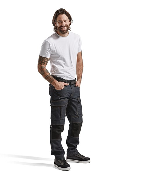 da347a8fe22d Service Trouser Denim Stretch (14971141) - Blaklader