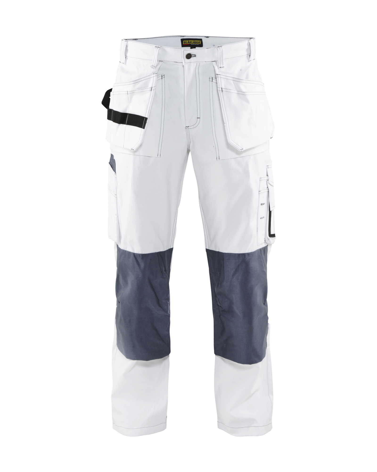 BLAKLADER 1531 COTTON WHITE PAINTERS TROUSERS MULTIPOCKETS WORK PANTS DECORATOR