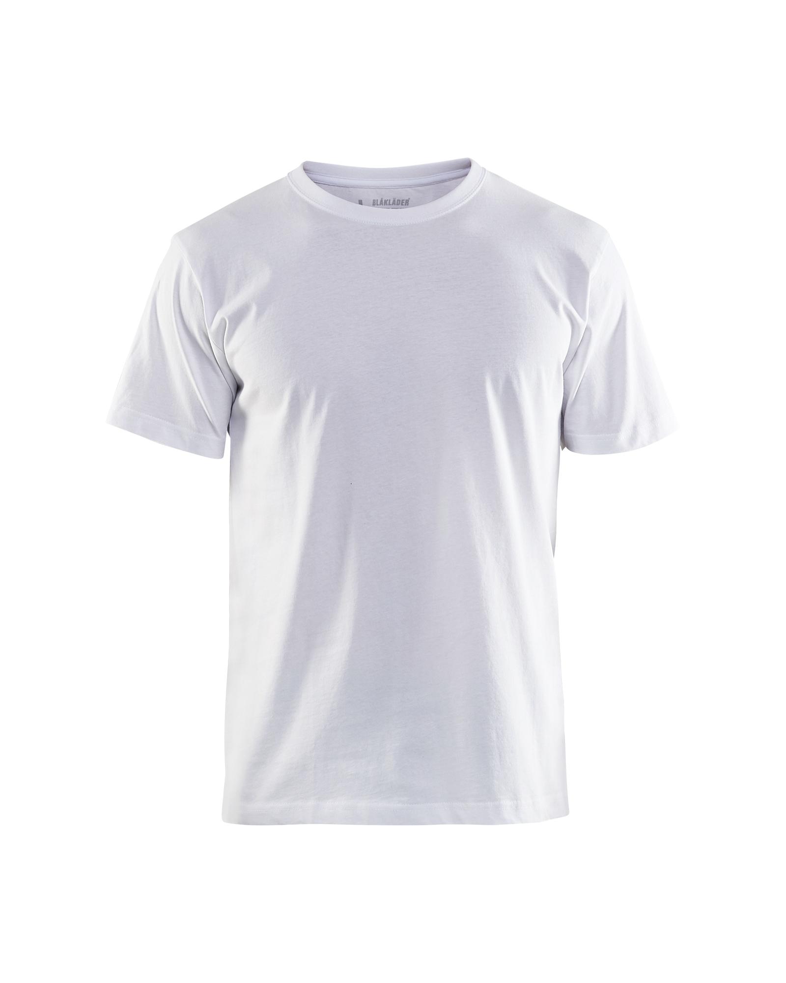 hvite t-skjorter 10 pkn