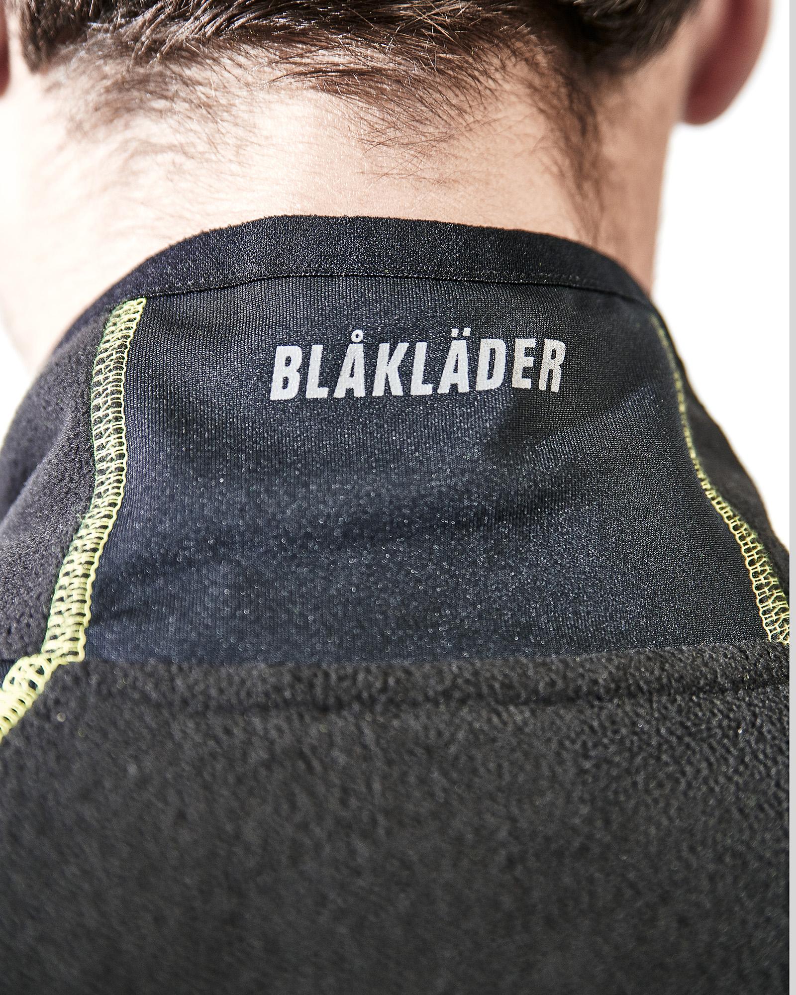 Black//Yellow Blakläder 4993 Zip Up Microfleece Jacket