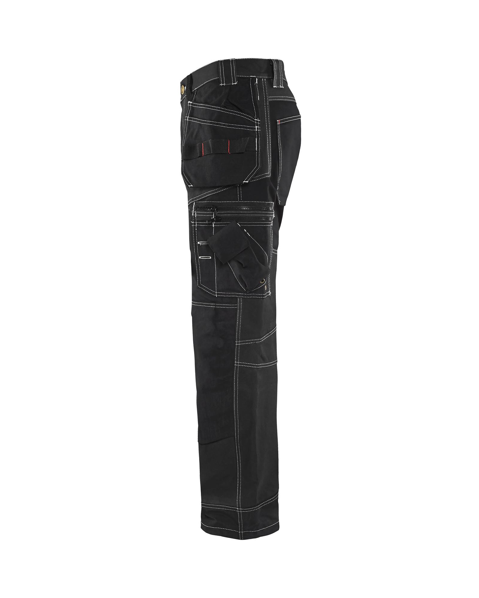 140718009900D108 TrousersProfil Size 40//30 In Black Blaklader Metric Size D108